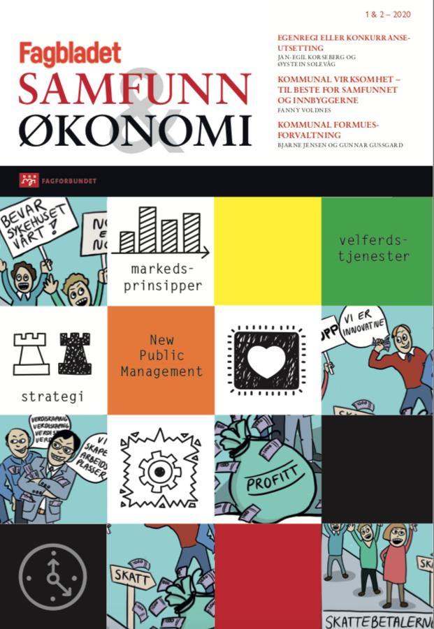 Utgave 1 og 2 av Samfunn og økonomi 2020