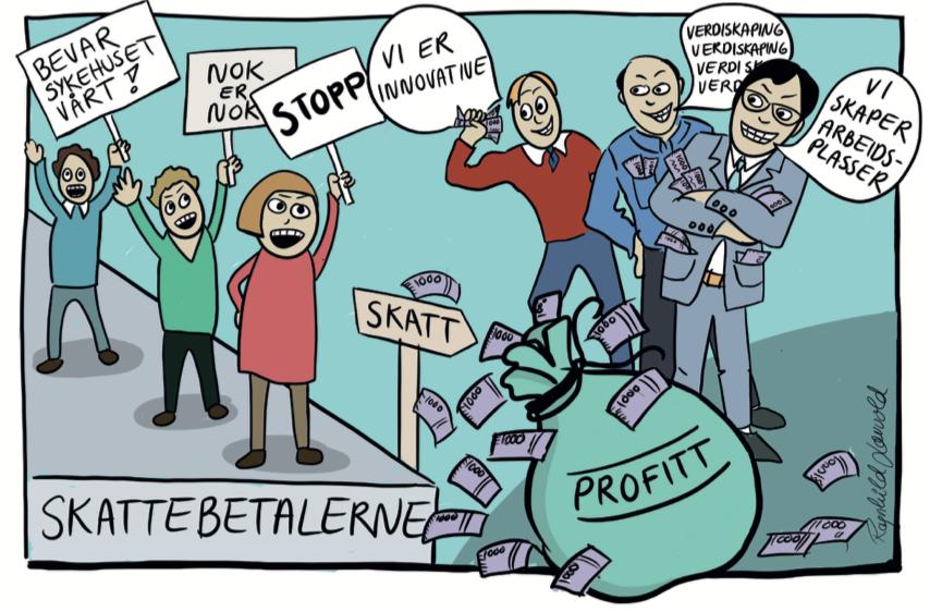 Velferdstjenester Hva er best - konkurranseutsetting eller egenregi - Samfunn og økonomi
